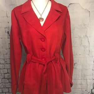 Cato red blazer
